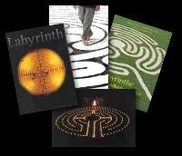 Labyrinth-Postkarten