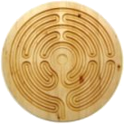 Zirbenholz-Labyrinth